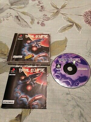 💫 RARE PS1 GAME TOTAL ECLIPSE TURBO CRYSTAL DYNAMICS GREAT CONDITION 100% 🌟