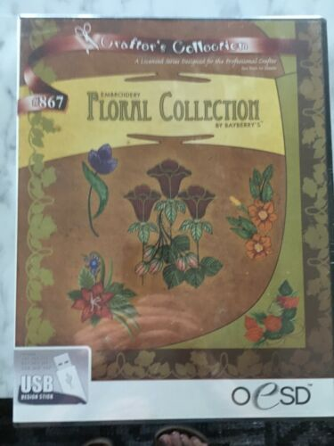 OESD Crafters Collection Floral Collection # 867