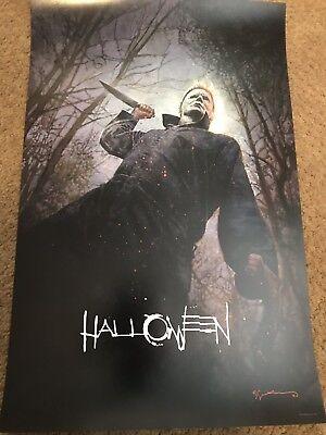 SDCC COMIC CON 2018 PROMO HALLOWEEN POSTER 11X17 Bill Sienkiewicz](Halloween Comic Con)