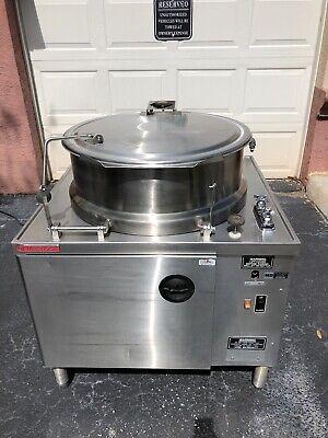 Market Forge Tilt Dmt-40 Electric Tilting Steam Kettle Filtration Free Shipping