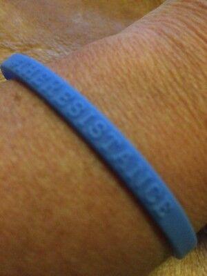 Democrat Twitter Bracelet #The Resistance #Blue Wave Hashtag