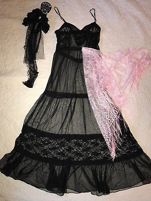 Day of the Dead dress COSTUME size 10 dia de los muertos corpse bride Halloween - Halloween Costumes Bride Of The Dead