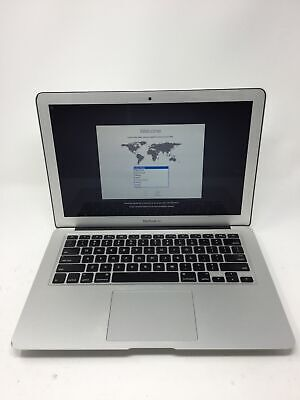"Apple MacBook Air 2013 13.3"" Laptop - MD760LL/A Core i5 1.3GHz 4GB 128GB SSD"