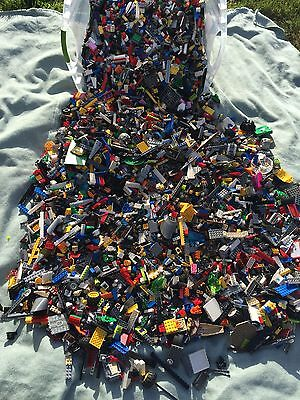 2  POUND Of LEGO'S Bricks part pieces Lot Star Wars City Etc Bulk 100%