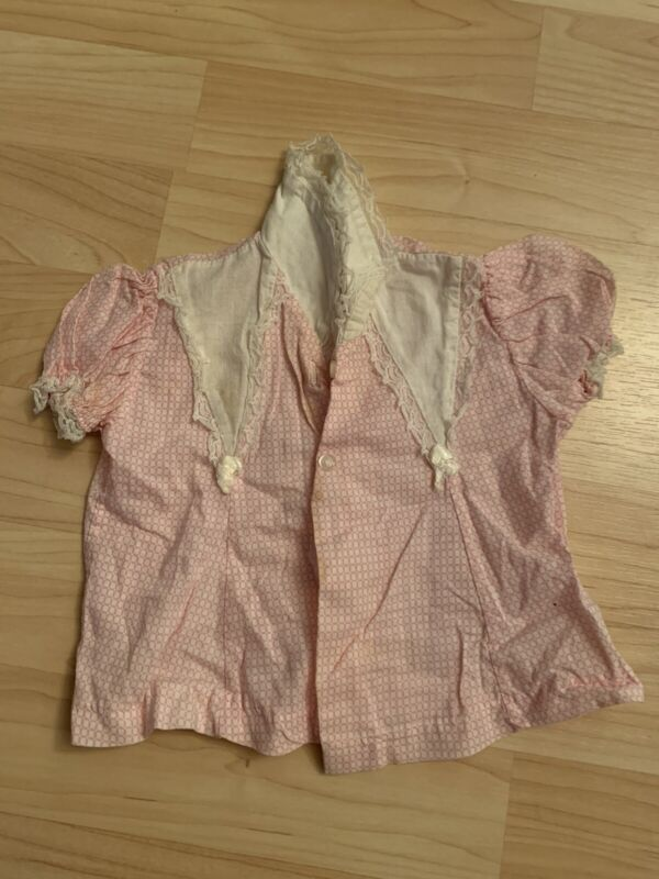 Wee Winnie Pink infant top , size 6 months vintage shirt