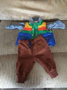 0-3 month boys outfit