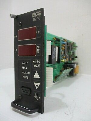 Ecs 8230-1 Temperature Control Module With Alarm Series 8200 Controller