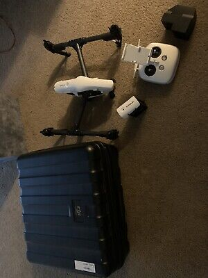 DJI Inspire 1 V2.0 Camera Drone - CP.BX.000103 With Zenmuse X3, 2 Batteries!