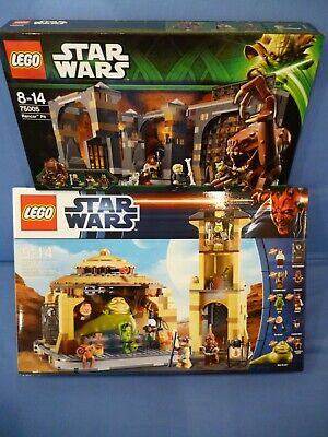 NEW Sealed Lego Star Wars *9516 + 75005* JABBA'S PALACE & RANCOR PIT.