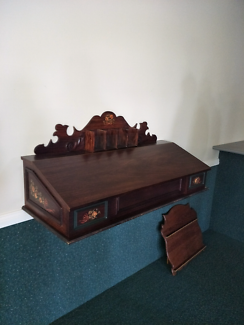 Solid timber Writing desk.