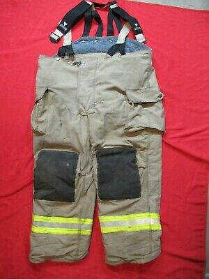 Mfg 2014 52 X 30 Veridian Fire Fighter Turnout Pants Bunker Gear Rescue Ems