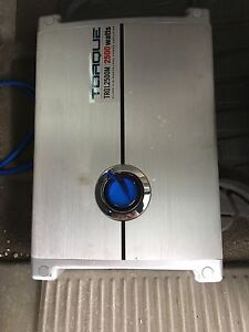 """2 10"""" dual ported subwoofer with amp"""