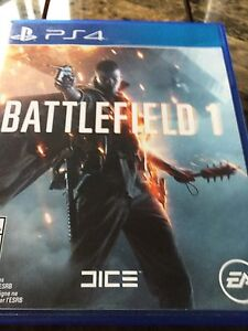 For sale battlefield one PS4 $60