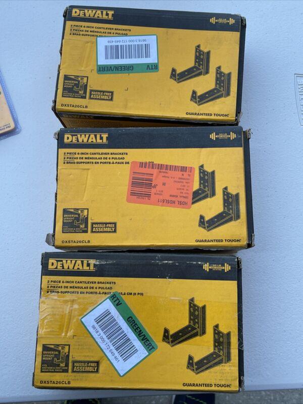 Dewalt 2 Piece 6 in. Cantilever Bracket Set for DXST Storage Racks DXSTA26CLB