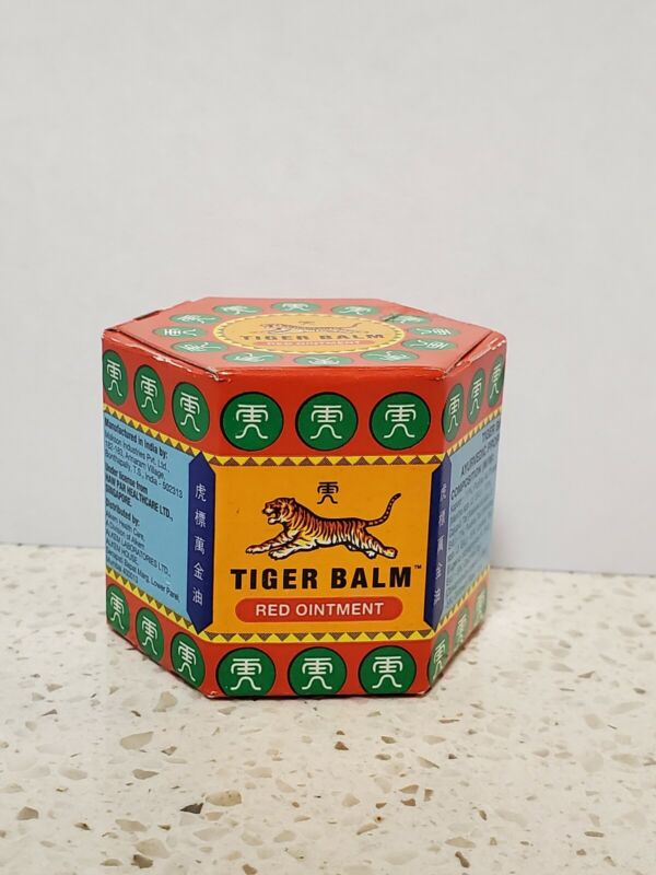Tiger Balm Red Ointment Arthritis Pain Joints Headache Relief Ache 21 ml