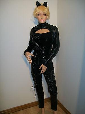 SEXY CATWOMAN FANCY DRESS COSTUME SIZE 14-16(XL)