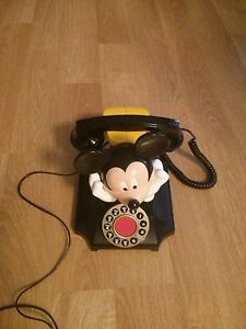 MICKEY MOUSE COLLECTABLE TELEPHONE updated NEW AD ########## Windsor Region Ontario image 1