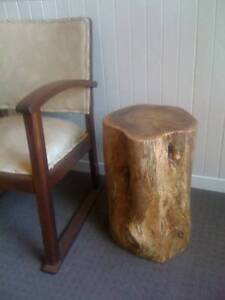 Hand made Australian native wood side table - Honey Myrtle Bassendean Bassendean Area Preview
