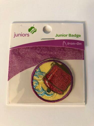 Girl Scout JUNIORS Badge ~ SIMPLE MEALS ~ new - made in china