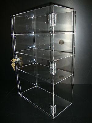 Acrylic Show Case 12 X 6 X 19 Locking Security Countertop Display