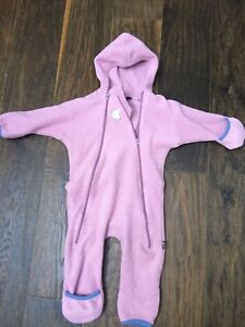 MEC Fleece Outdoor outfit with hood - 18 months