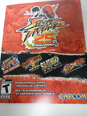 XBOX 360 Street Fighter 25th Anniversary DLC (2 games + add-ons) - BRAND NEW