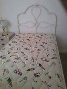 Wrought Iron Bed And Mattress East Maitland Maitland Area Preview