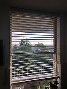 Off white venetian blinds Mosman Mosman Area Preview