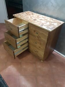 NEW RETRO STYLE SOLID TIMBER DRESSER