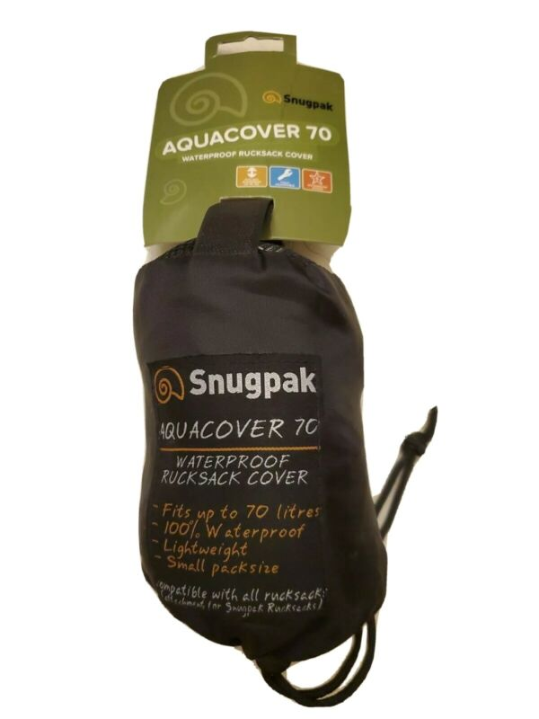 Snugpak Aquacover 70 Waterproof Rucksack Cover NWT
