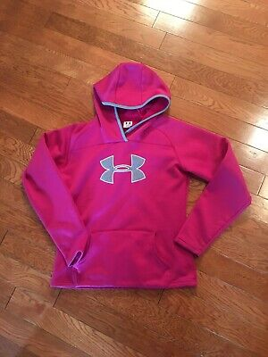 UNDER ARMOUR - HOODIE - WOMEN'S SIZE MEDIUM - PINK - FREE SHIPPING
