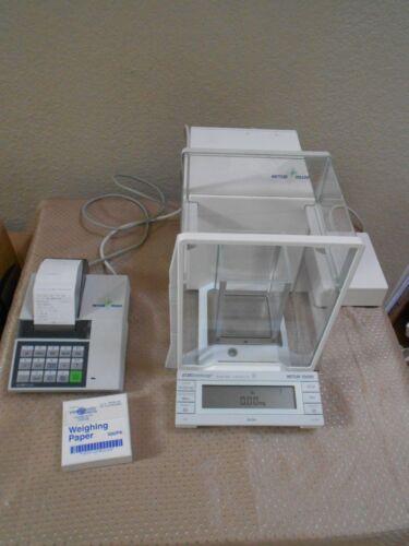 Mettler Toledo Professional Semi Micro At261 Balance Scale Inner Shield Printer