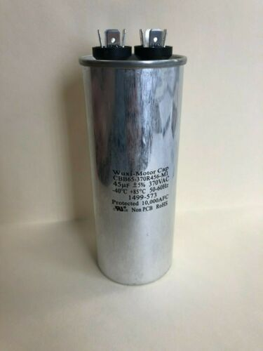 45 uF 370 VAC Capacitor CBB65-370R456-M1  1499-573