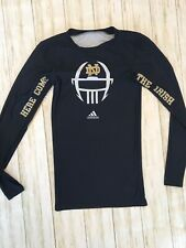 Notre Dame Adidas Team Issued Football Compression Game ...