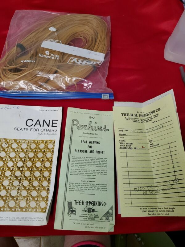 Chair Caning Kit Directions And Cane