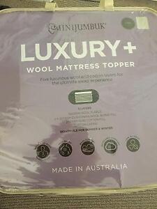 Wool Mattress Topper - King Size - Luxurious Stockton Newcastle Area Preview