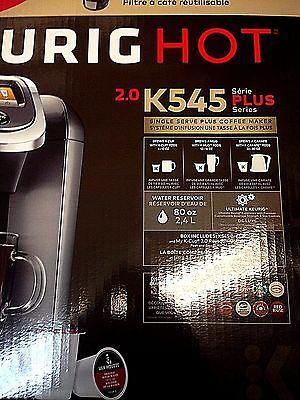 Keurig 2 0 K545 Plus K Cup Machine Coffee Maker Brewing System