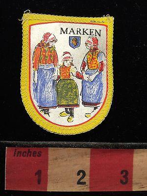 Vtg MARKEN Holland / Netherlands Patch BENELUX 69Q7