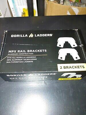 Gorilla Ladders Mpx Aluminum Rail Brackets Glmp-rb-2