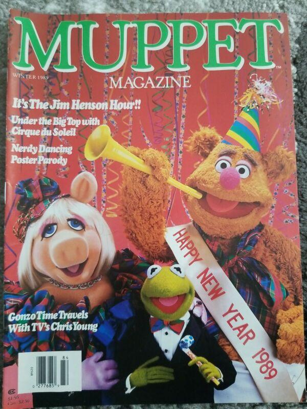MUPPET Magazines Winter 1989