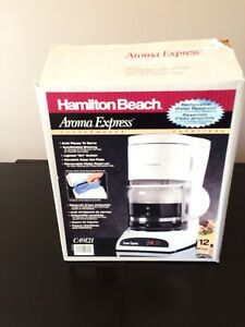 Coffee Maker White Hamilton & Beach