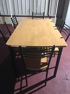 7 piece Dining table and chairs set Kogarah Rockdale Area Preview