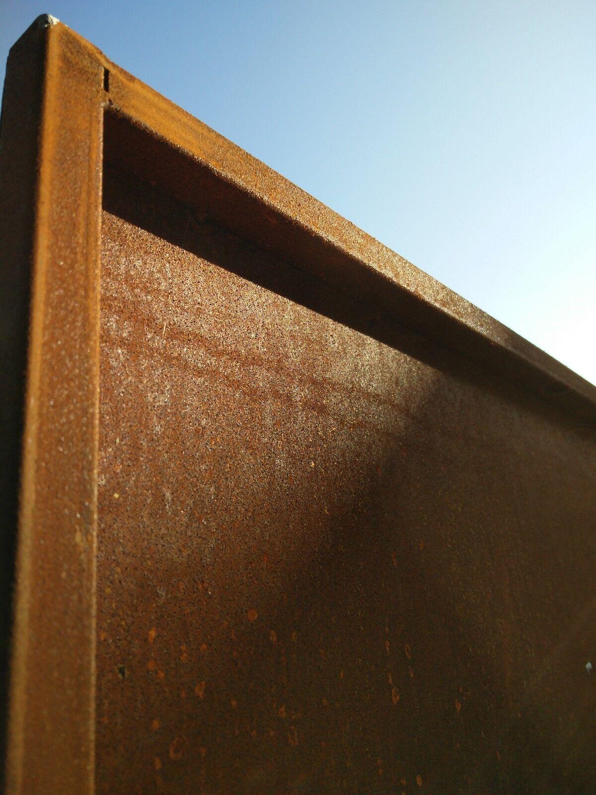 Sichtschutz Stahl Rostend Verschiedene Ideen Zur Raumgestaltung