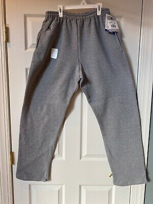 Russell Athletic Men's Dri-Power Fleece Open-Bottom Pocket Sweatpants Sz -
