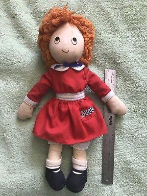 "1982 Vintage Original Little Orphan ANNIE Applause 18"" Doll Plush Cloth Toy"