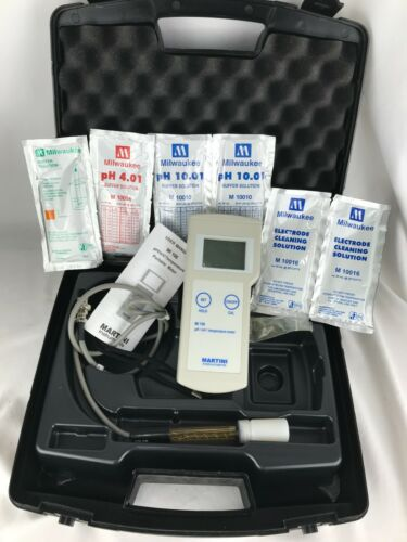 Milwaukee Mi106 Portable pH ORP mV Temperature Meter - Martini Instruments