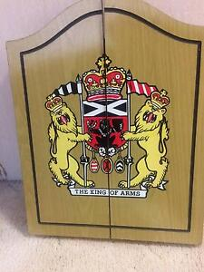 The King of Arms dart board Loganholme Logan Area Preview