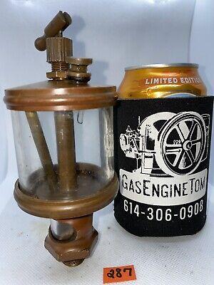 Brass Cylinder Oiler 654 Hit Miss Gas Engine Steampunk Vintage Antique Old