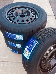 Dodge Caravan/Journey Winter Tires & Rims 5x127