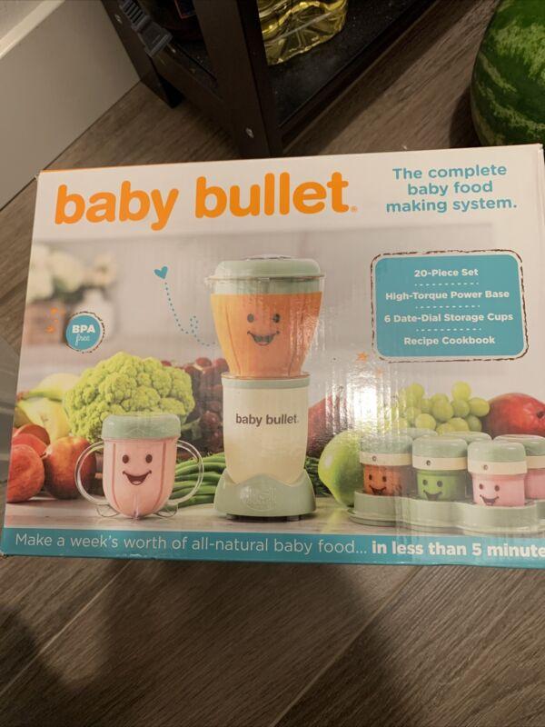 Baby Bullet Food Blender Processor System - 20 Piece Set